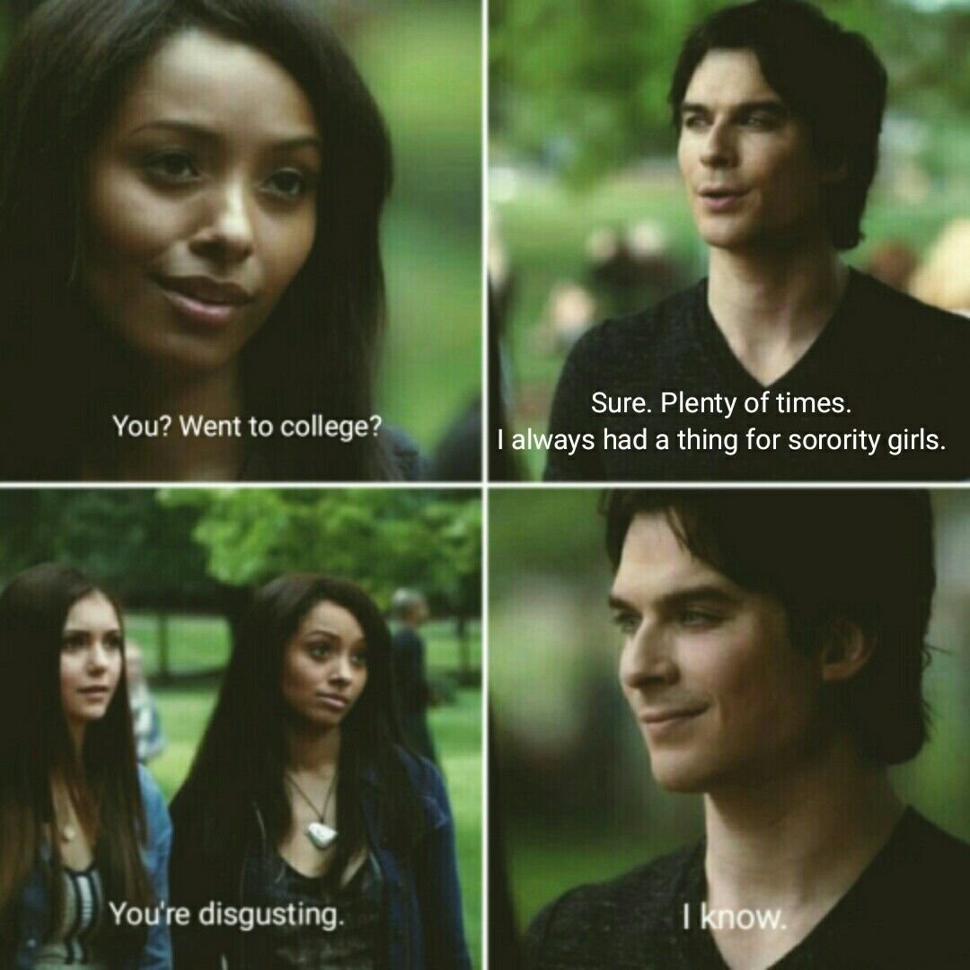 Quotes From Vampire Diaries Tvd Funny Quotes  Tvd  Pinterest  Tvs