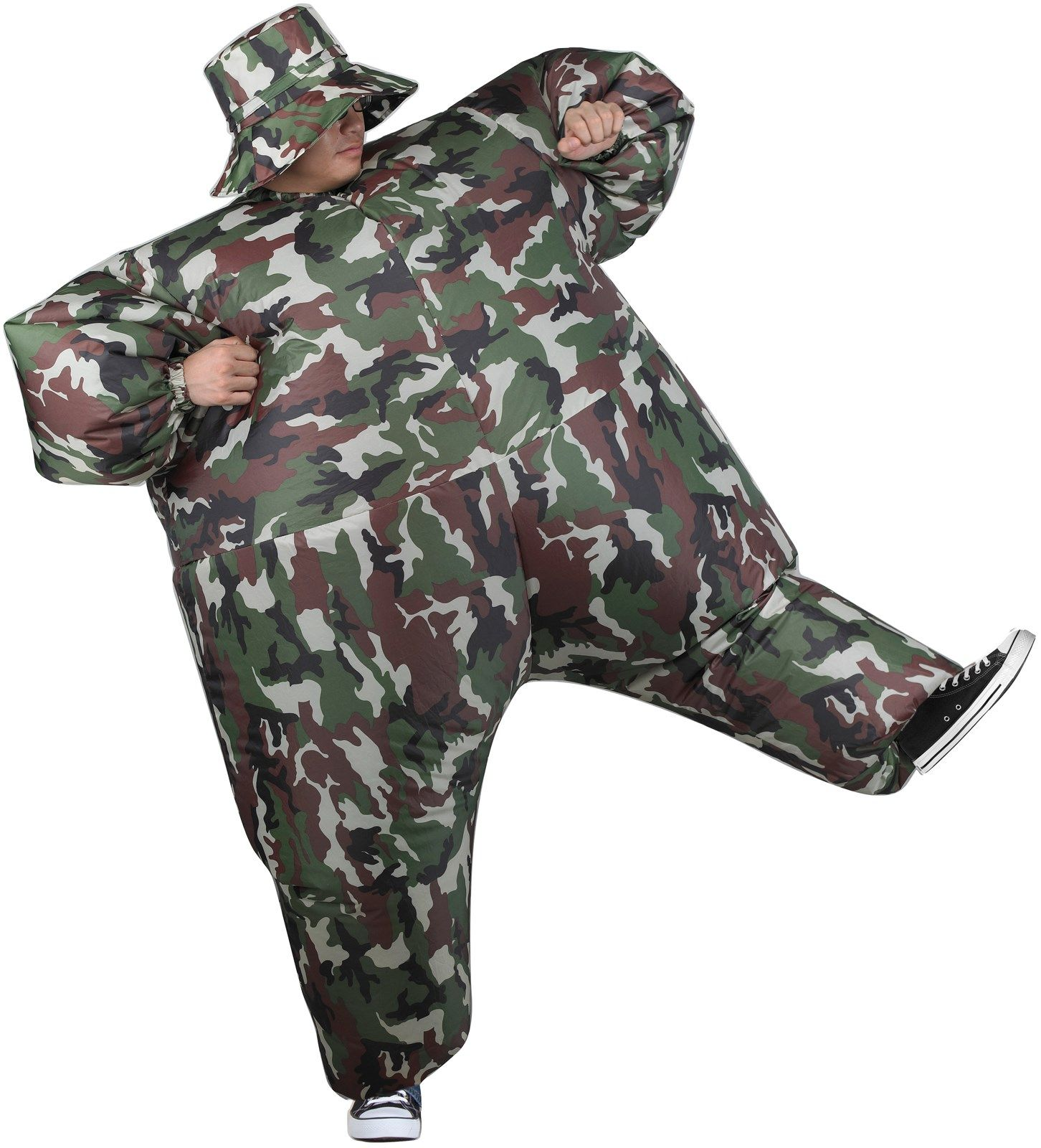 Inflatable Adult Camosuit Costume,InflatableAdult
