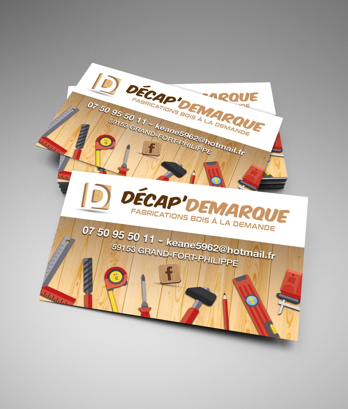 Decap Demarque Carte Visiter