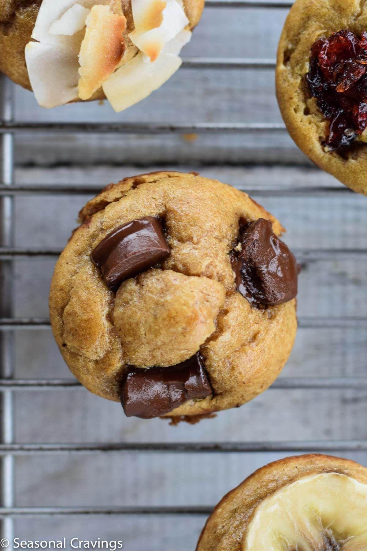 Five Ingredient Blender Muffins