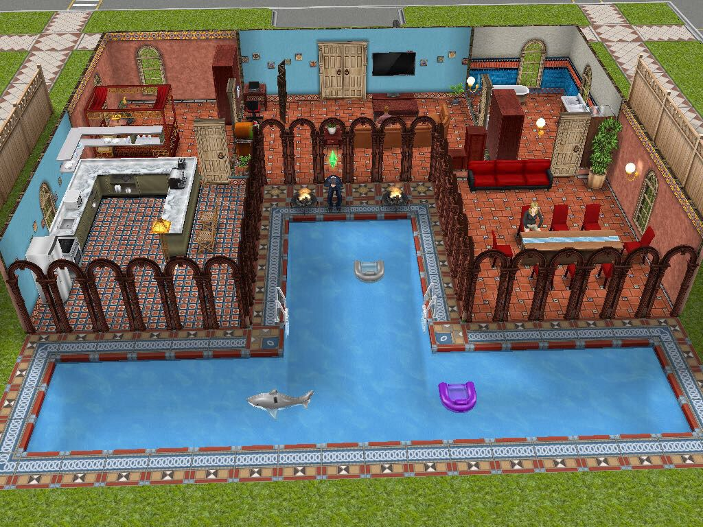 Latin Inspired Sims Freeplay House Idea Sims Freeplay Pinterest