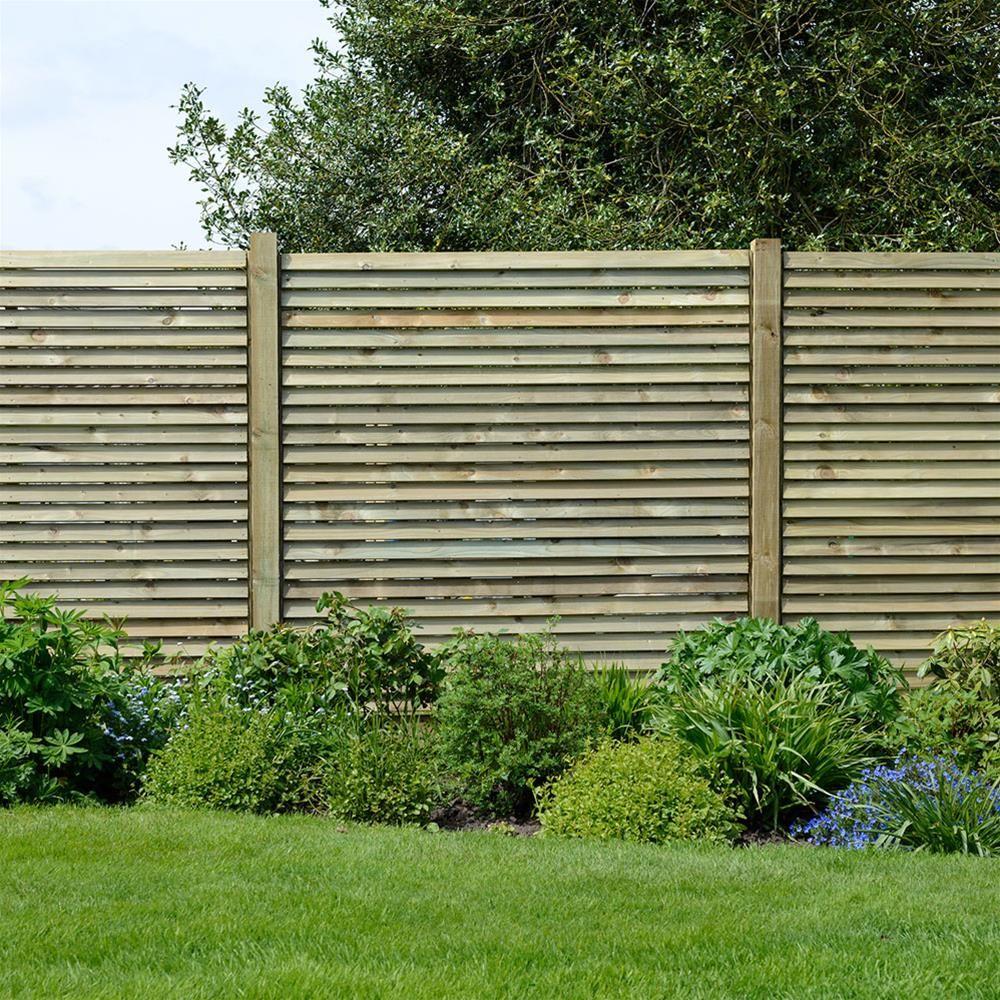 Grange louvre wooden fence panels 6ft wooden fence panels grange louvre wooden fence panels 6ft baanklon Gallery