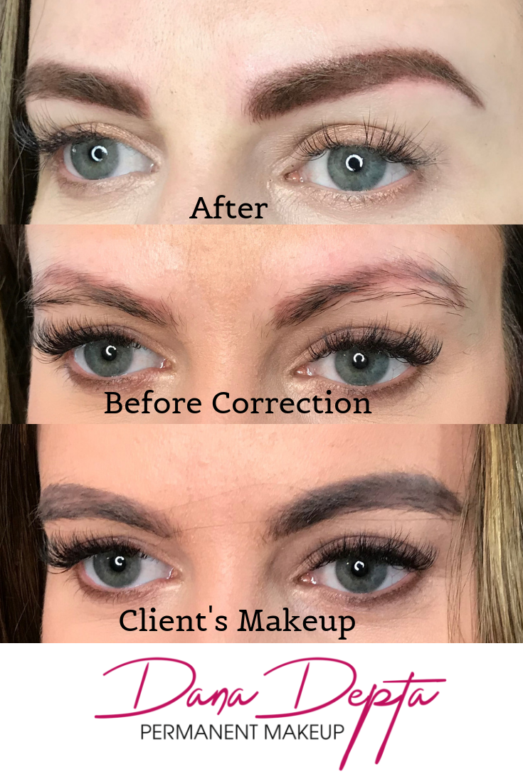 Did you get microblading and it looked great at first, but