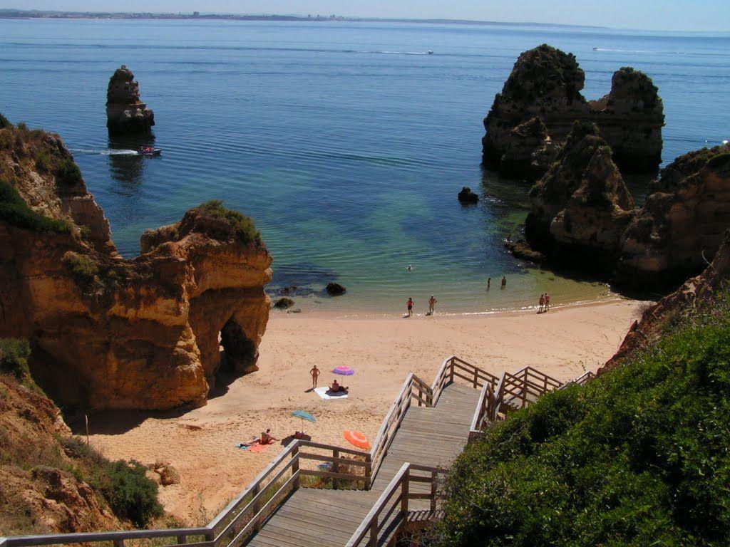 La Paradisiaca Praia Do Camilo En El Algarve Algarve El Algarve Vacaciones En Europa