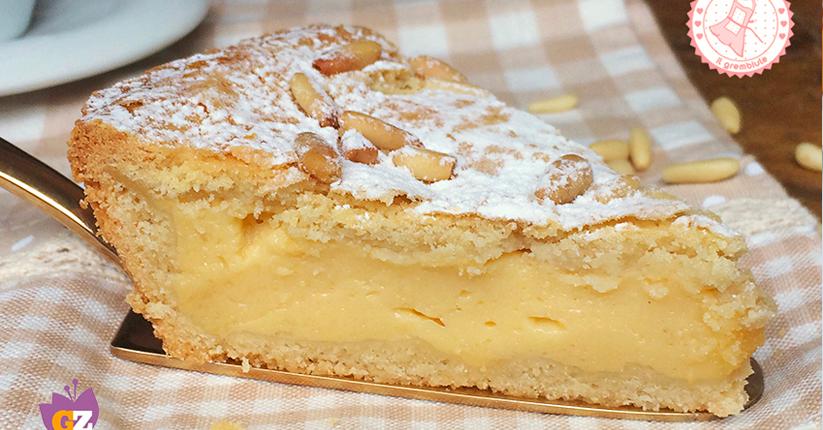 Photo of Torta della nonna un dolce classico italiano, una torta golosa e