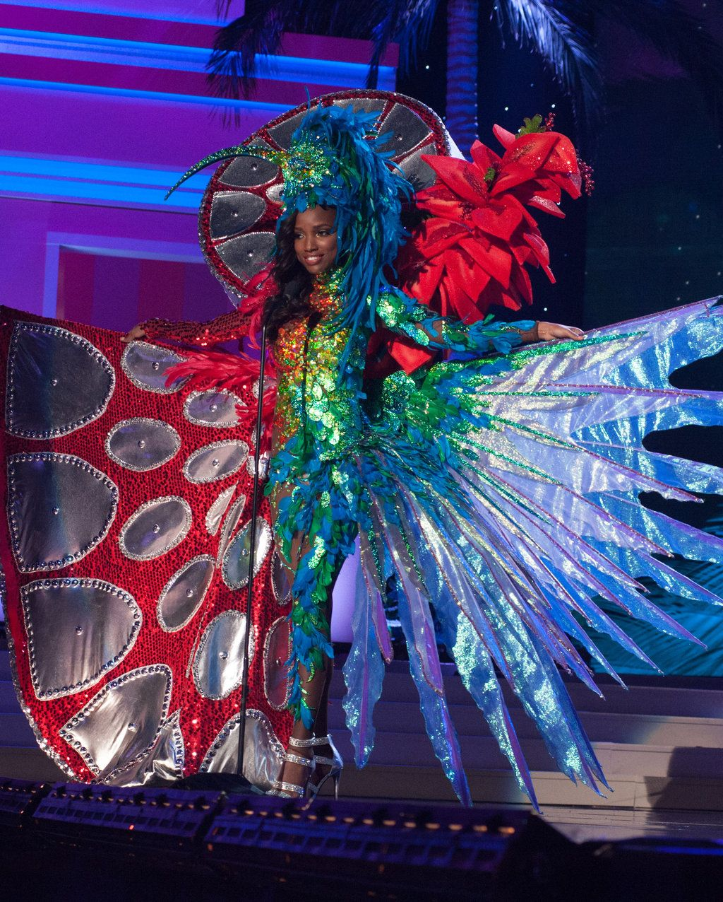 trinidad amp tobago national costume inspired by the miss