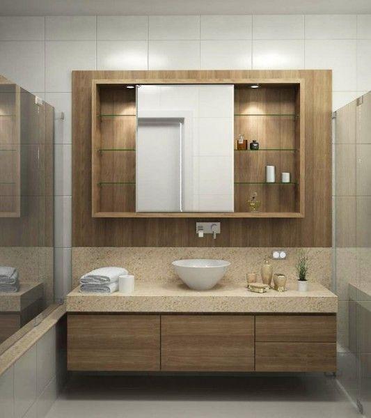 Móvel para Banheiros Planejados …  Banheiro  Pinterest  Móveis para banhei -> Banheiros Planejados Df