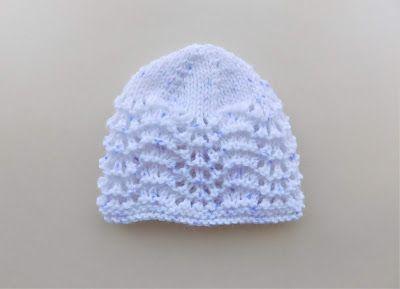 5c061c16490f Marianna s Lazy Daisy Days  Old Shale Lace Baby Hat