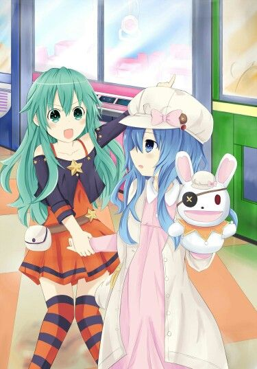 Natsumi and yoshino (date a live) | Date a live | Date a live