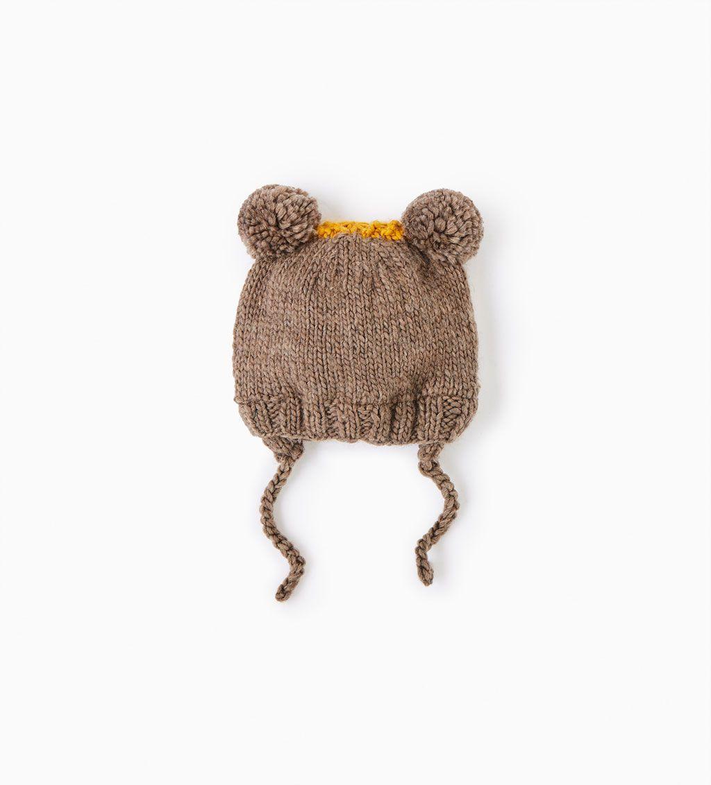 85c4d2a3b87 Babies · ZARA - KIDS - Little animal hat