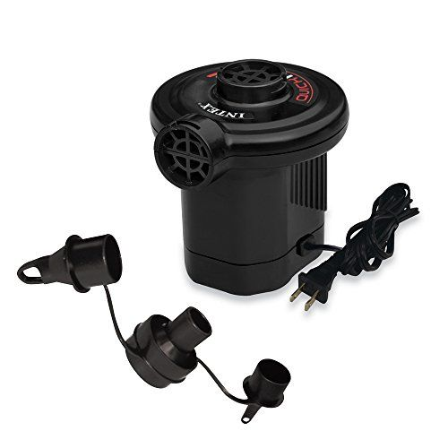 Intex Quick Fill Ac Electric Air Pump 110 120 Volt Max Air Flow 21 2cfm Intex Air Pump Inflatable Rafts