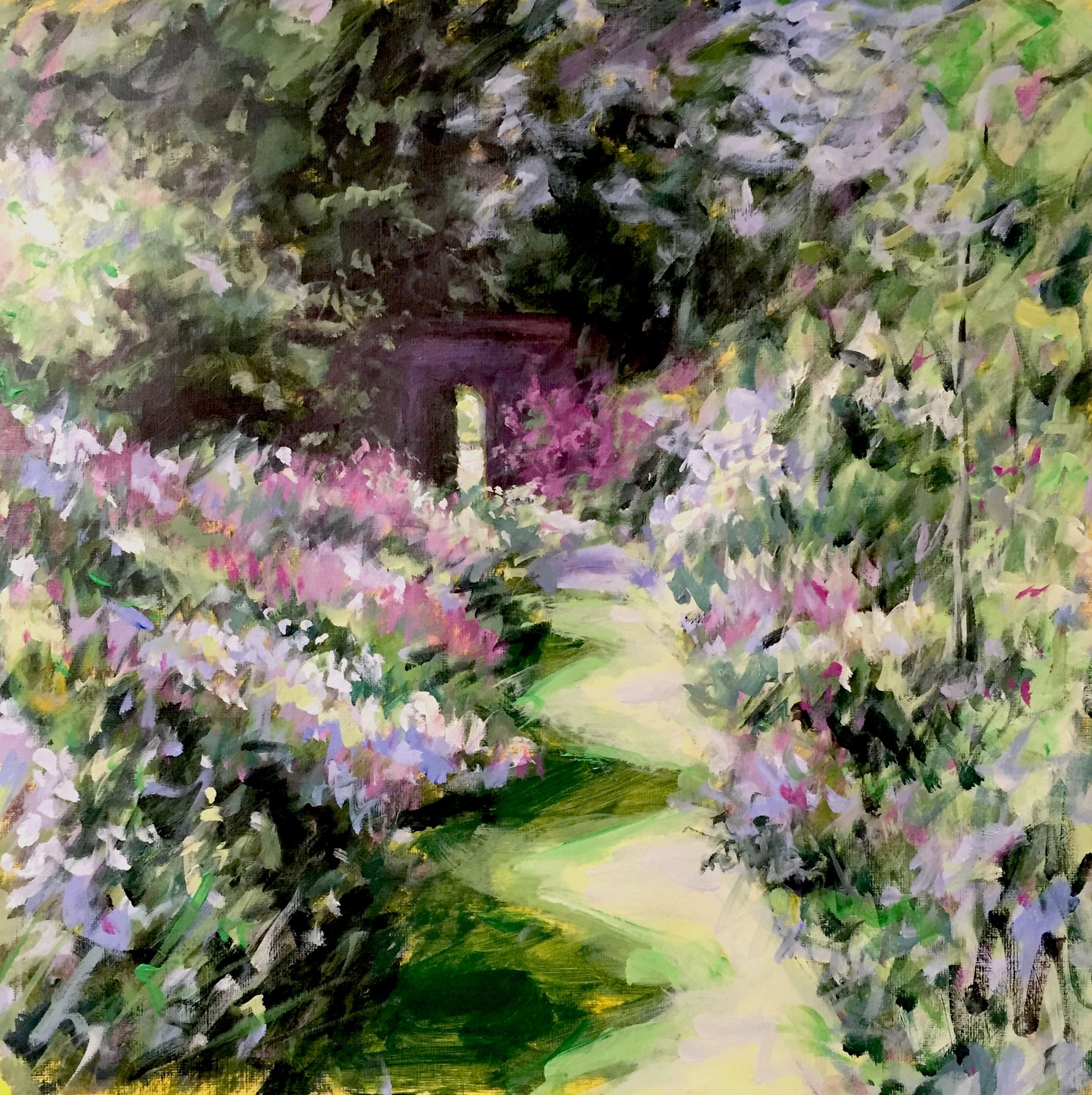 Join Peter As He Shows You In His Fast Paced Style How To Paint A Garden Path Acrylics Or Oils Using This Technique Ll See Variety