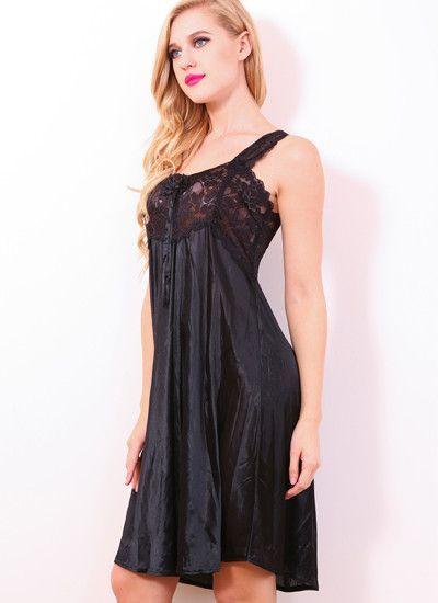 Sexy Sleepwear Women Lace Nightgowns Vintage Nightwear Cosy Night Dress  Plus Size Nighties for Women Summer Sleeveless Dress Hot 4ae9aa53c