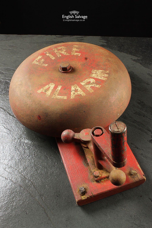 163 150 Vintage 1920 S Fire Station Alarm Bell Vintage Fire