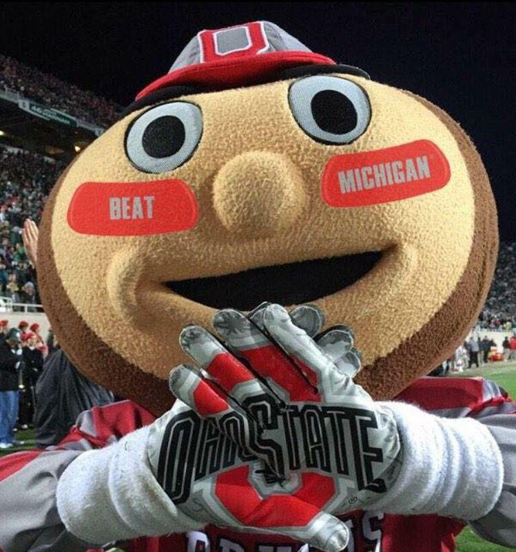 Brutus! Ohio state buckeyes football, Ohio buckeyes