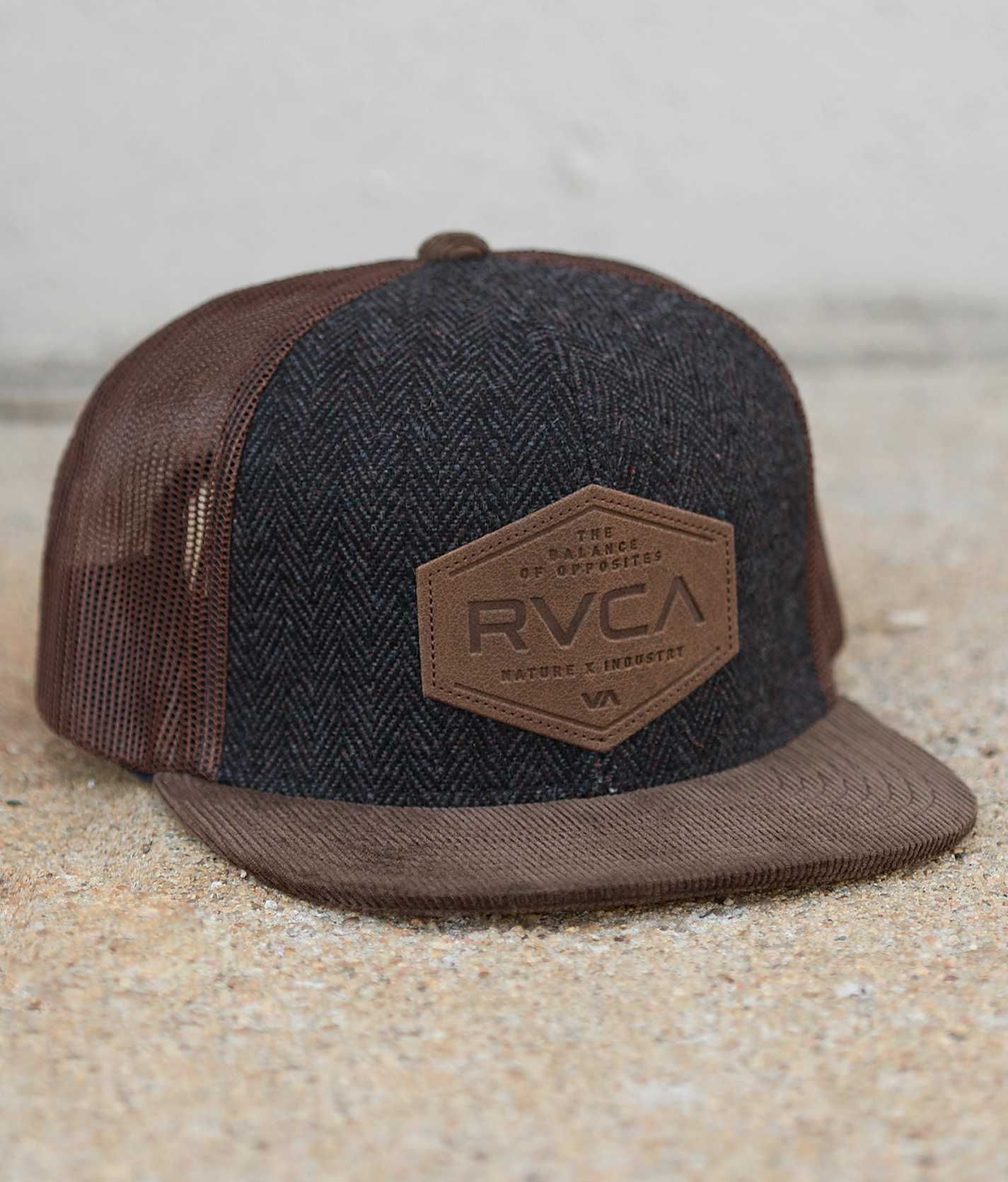 3fbe63c6 RVCA Sixth Panel Trucker Hat - Men's Hats | Buckle | Stuff I Like in ...