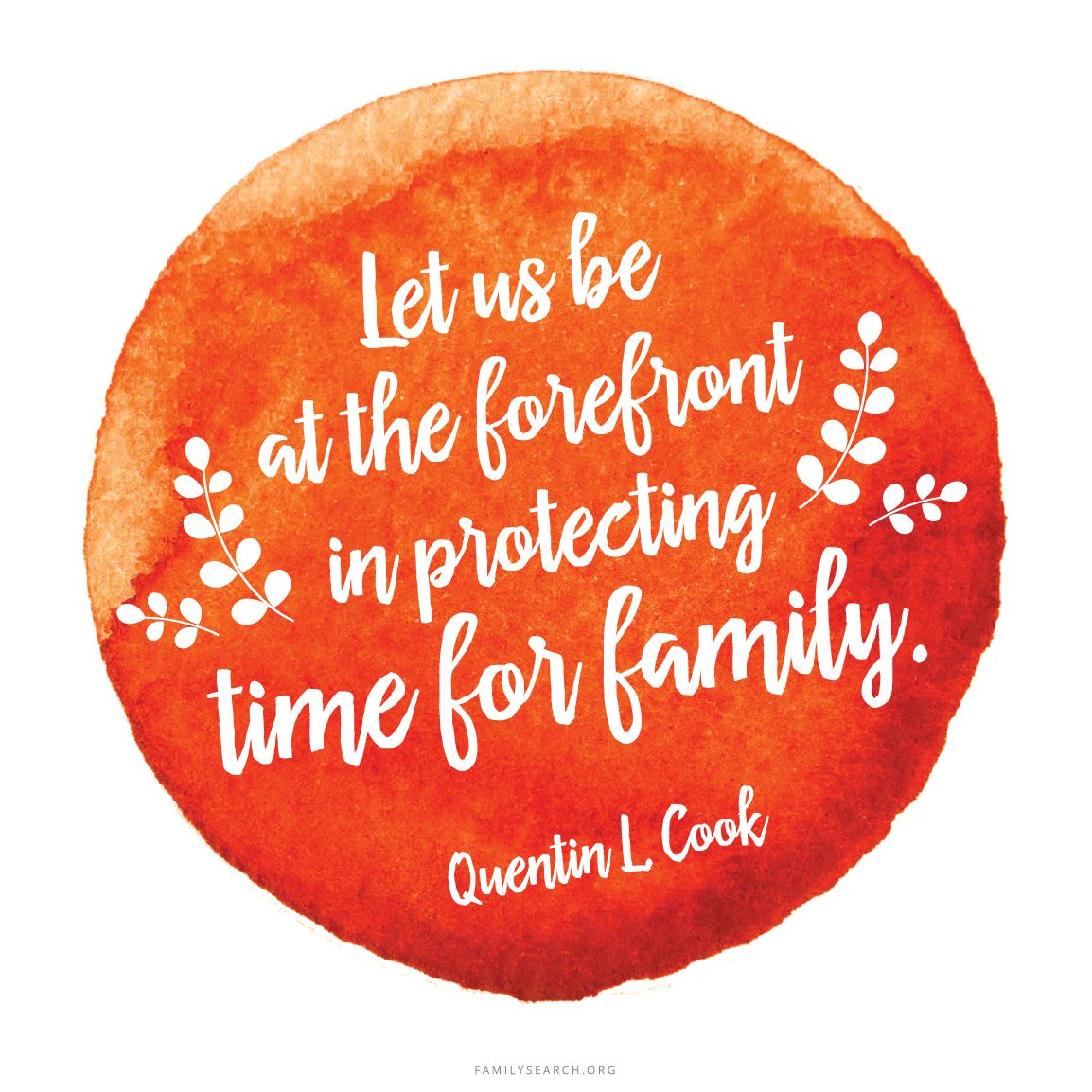 Let Us Be At The Forefront In Protecting Time For Family Quentin