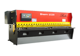 Nc Hydraulic Swing Shearing Machine 6x3200mm Hydraulic Press Brake Hydraulic Press Brake