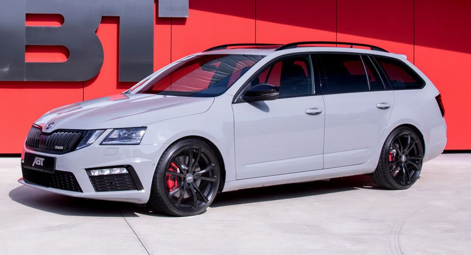 Abt S Skoda Octavia Rs Debuts With 315hp Wagon Cars Audi Rs6