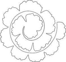 rolled paper roses template - resultado de imagen para plantillas paper flowers flores