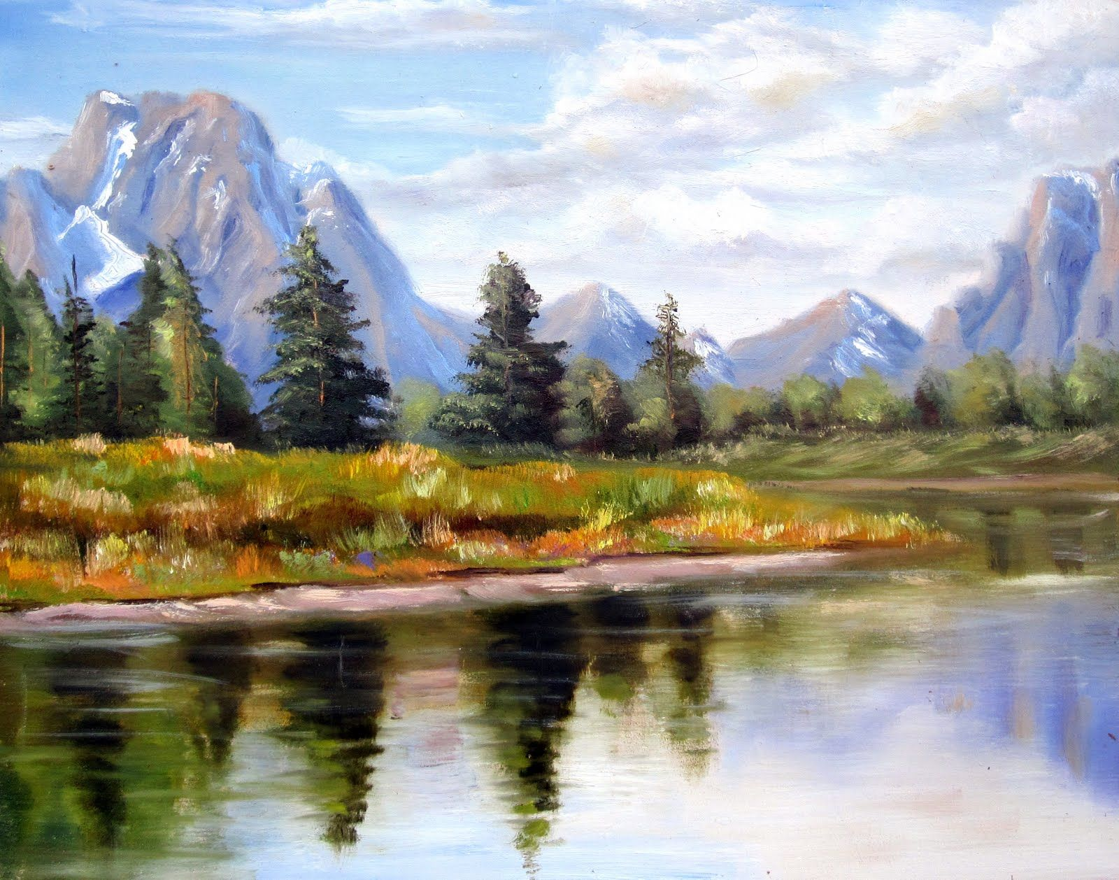 Landscape Art Paintings Gallery