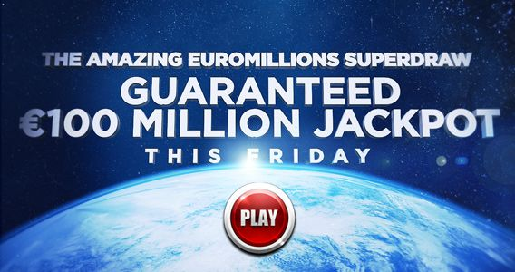 EuroMillions Superdraw this Friday, 28th of September. Play at www.PlayHugeLottos.com   €100,000,000 jackpot guaranteed!