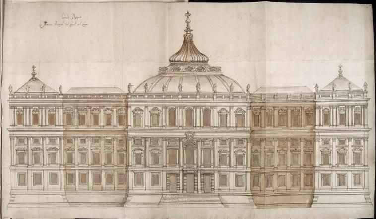 De Cortone Pierre Recueil Du Louvre Second Projet Pour La