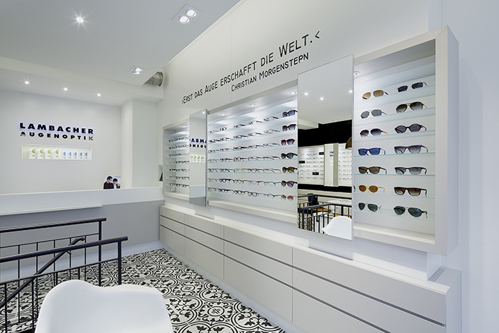 Modern Optical Frame Lenses Optical Showroom Interior Design Eyewear Store Interi Store Design Interior Retail Store Interior Design Showroom Interior Design