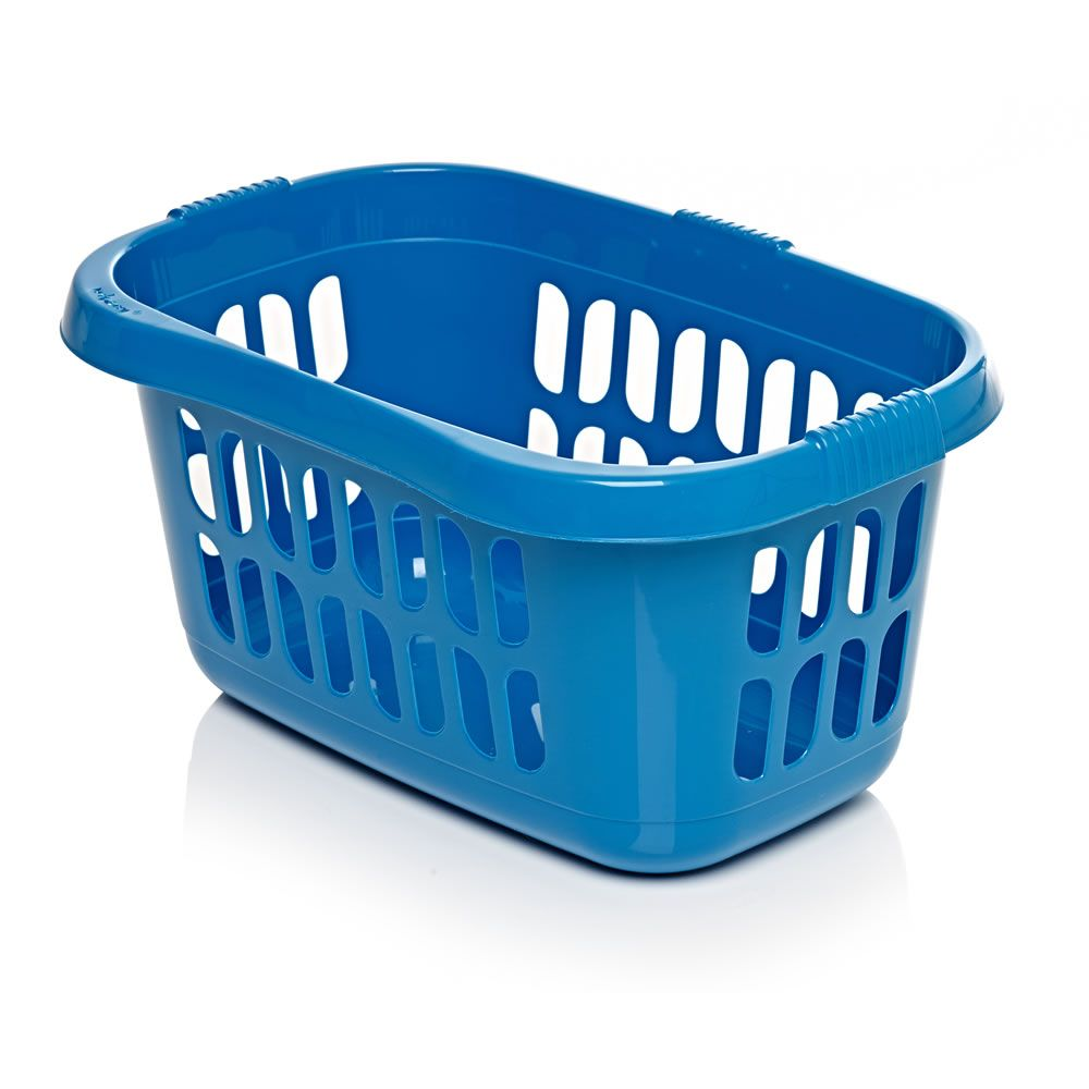 Wilko Hipster Laundry Basket Teal Laundry Basket Wilko Laundry