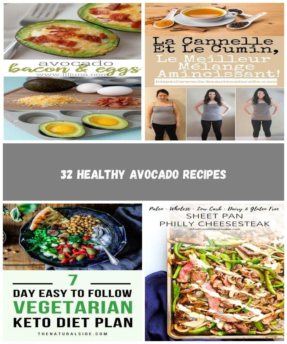 Healthy Avocado Recipes  Avocado Bacon and Eggs  Easy Clean Eating Recipes for Breakfast Lunches  H