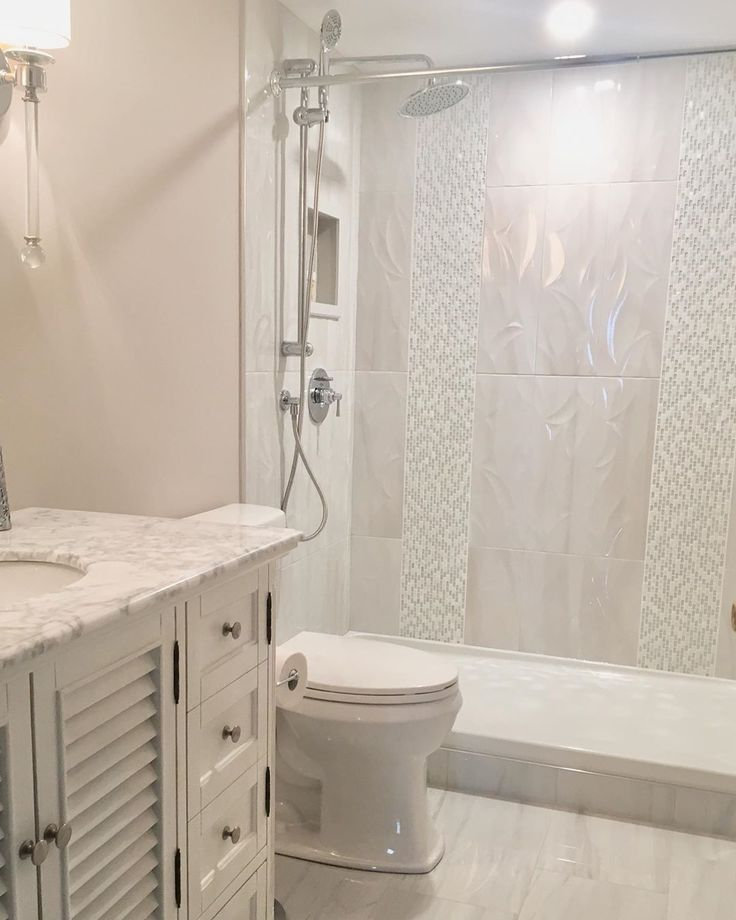 Condo Bathroom Renovation Completed, Swipe For Before And