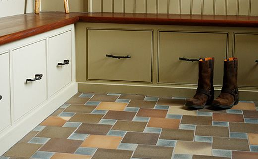 we want lots of places to sit and storage in the mudroom as well - this might be part of the plan...