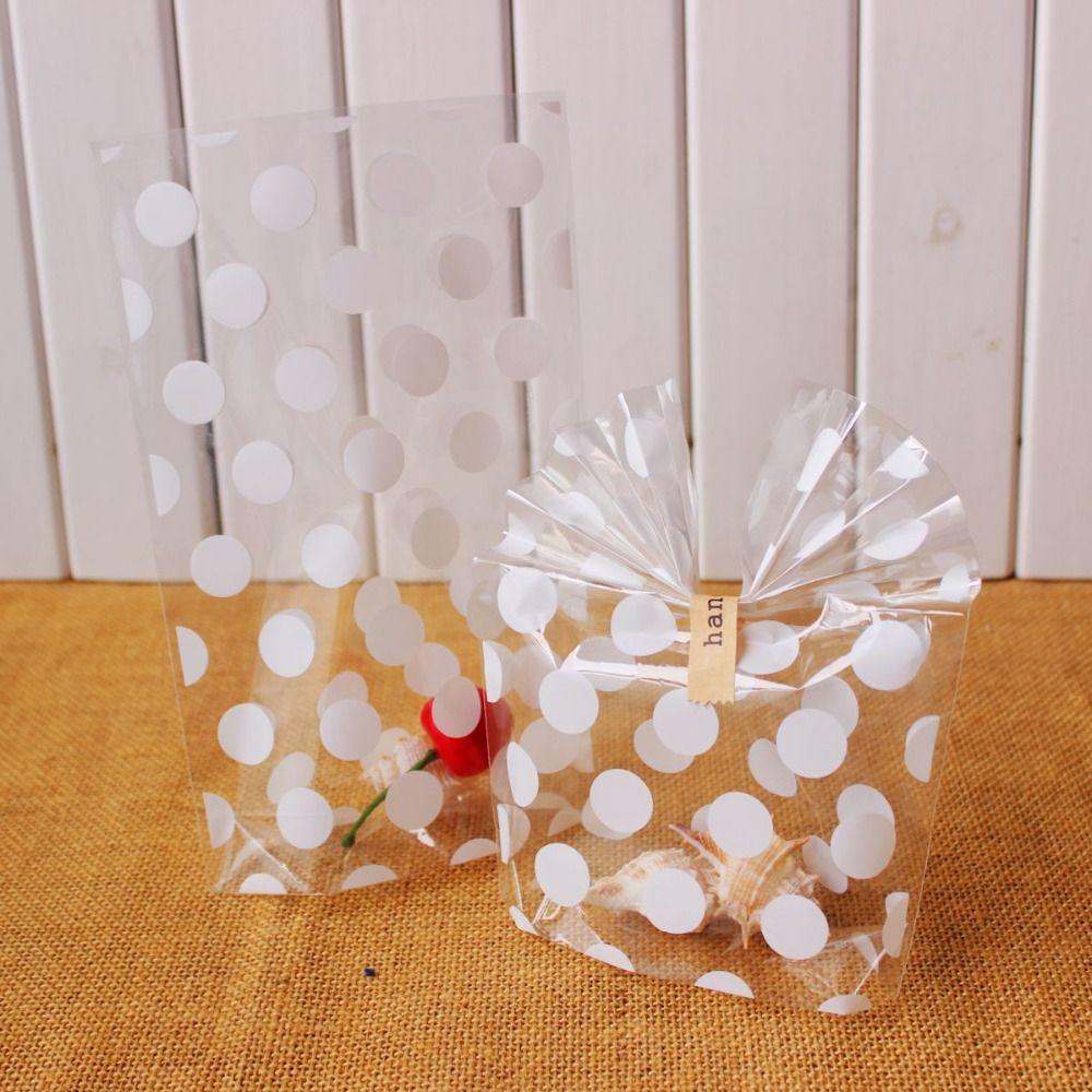 Bolinhas sacos de biscoitos sacos de doces saco de - Papel de regalo transparente ...