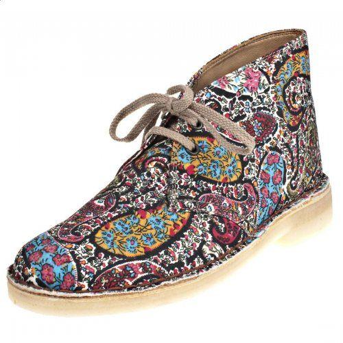 Clarks - Liberty Print Desert Boots
