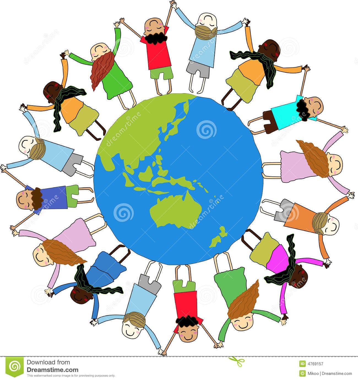 world map clip art for kids children around world 4769157 jpg 3rd rh pinterest co uk clip art world map border world globe map clipart