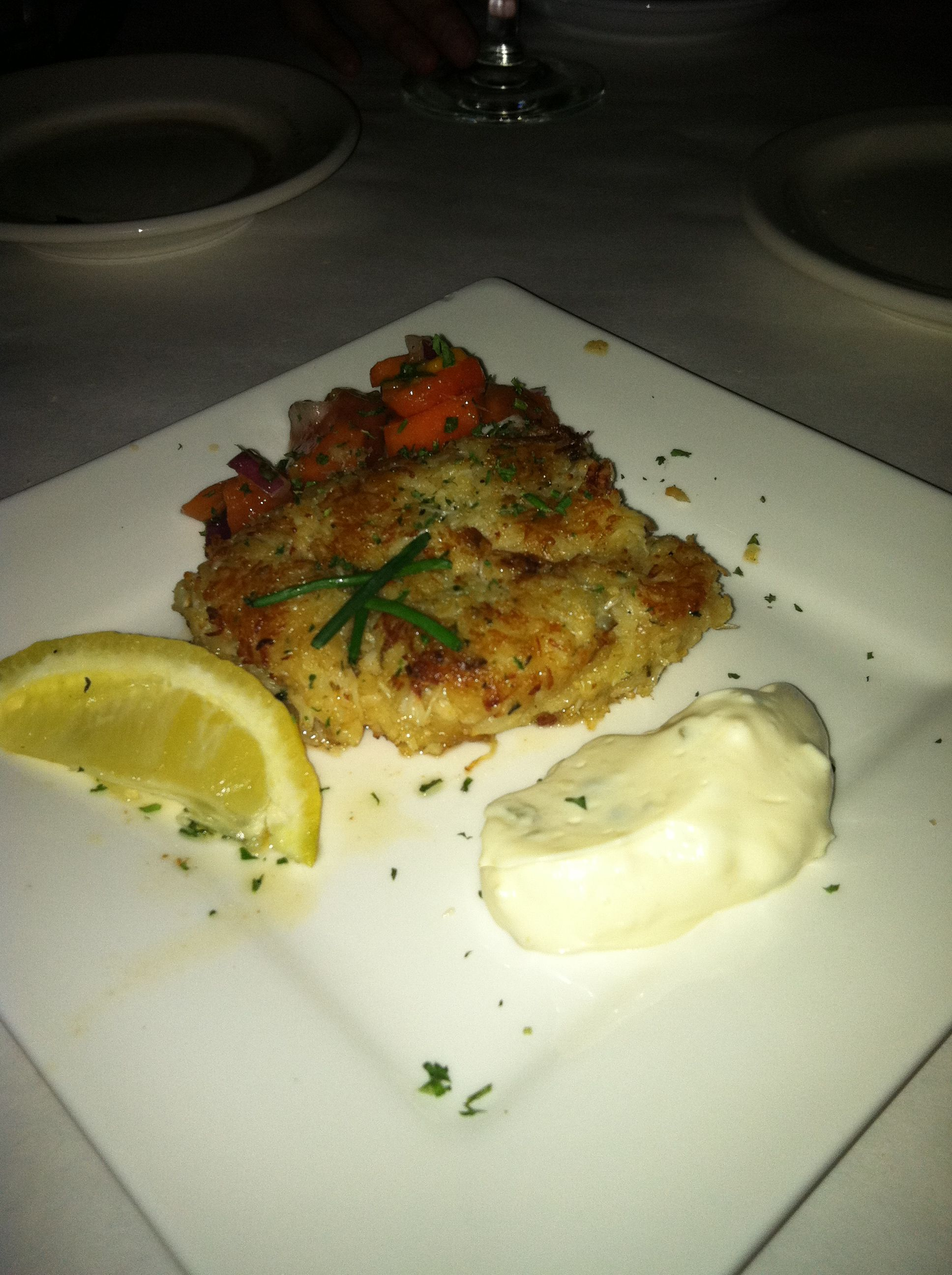 Dungeness Crab Cakes from Max's Grill In Pacific Grove, CA