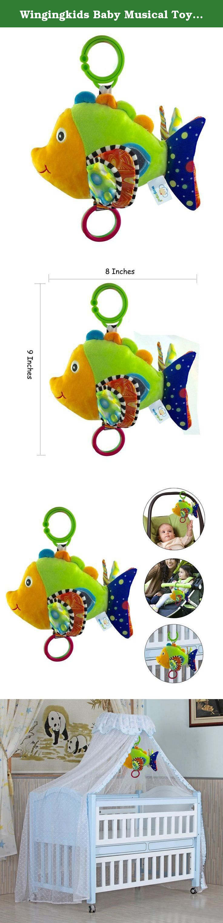 Wingingkids Baby Musical Toys Stroller Toys for 0 3 Year Old Baby