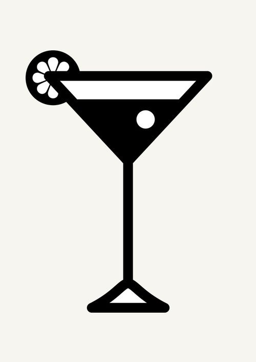 Cocktail Glass Flat Icon Ad Affiliate Aff Glass Flat Icon Cocktail Flat Icon Cocktail Glass Icon