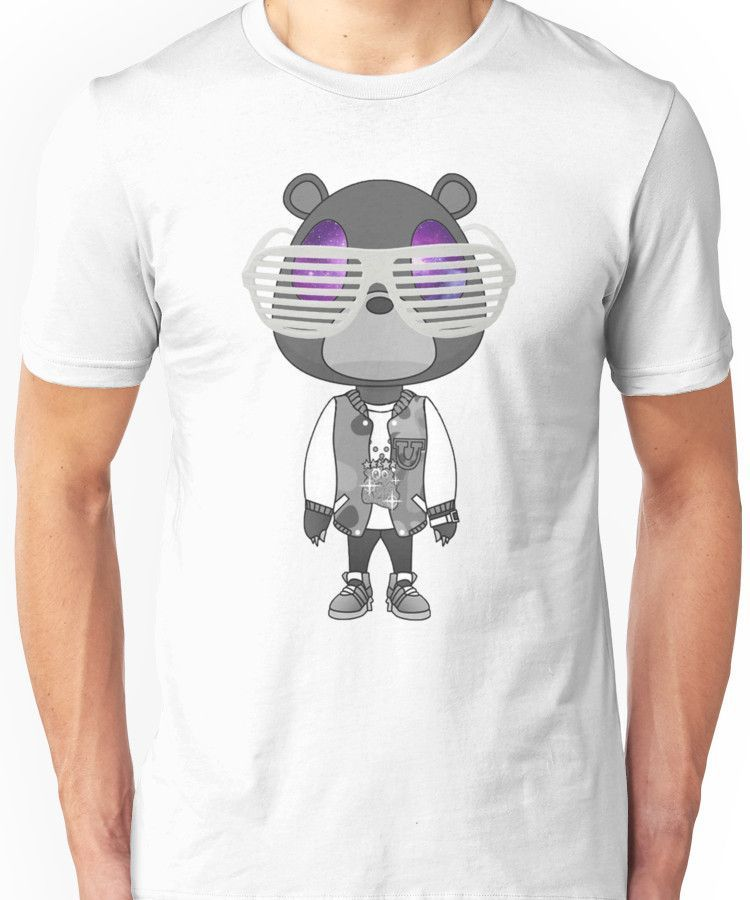 Kanye West Graduation Bear T Shirt By Sarahcatdesign Bear T Shirt Classic T Shirts T Shirt