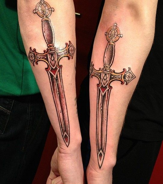 Значение татуировки меч - Тату салон Тортуга 24