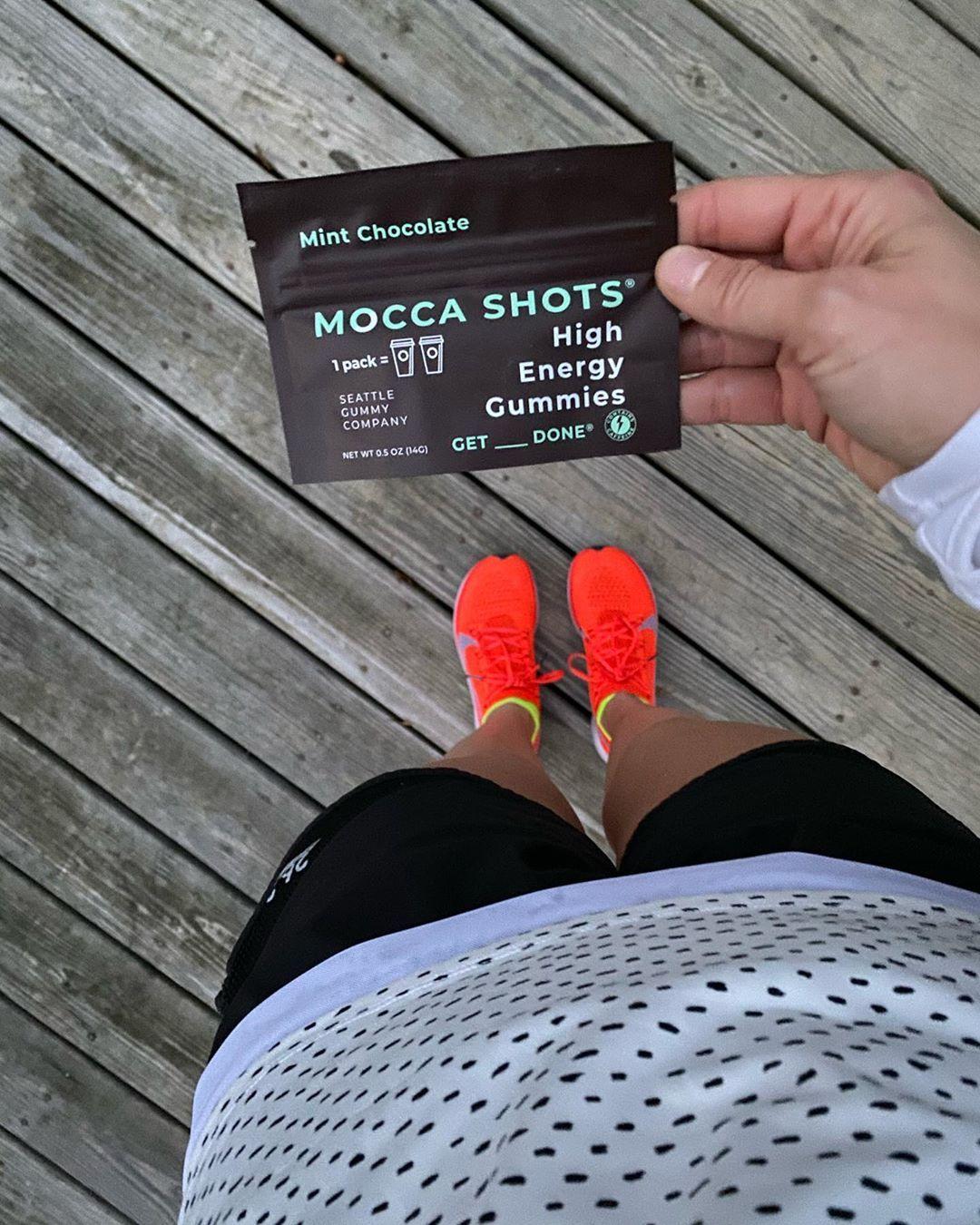 Mocca Shots High Caffeine Gummies, all natural energy ...  Energy Gummies Running