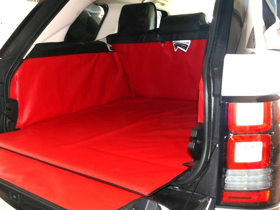 Red Black Colour Coded Boot Liner To Match The Retro Style