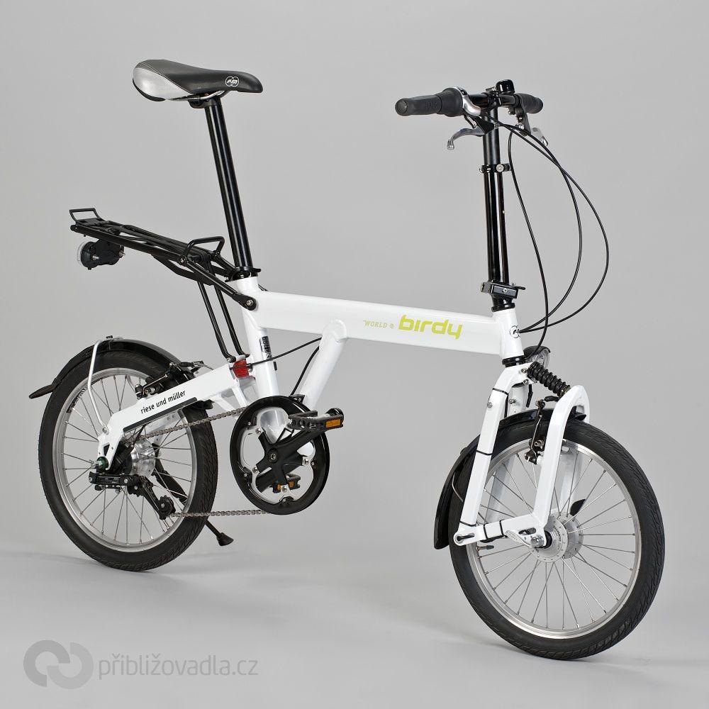 Skladaci Kolo Folding Bike Birdy World Comfort Priblizovadla