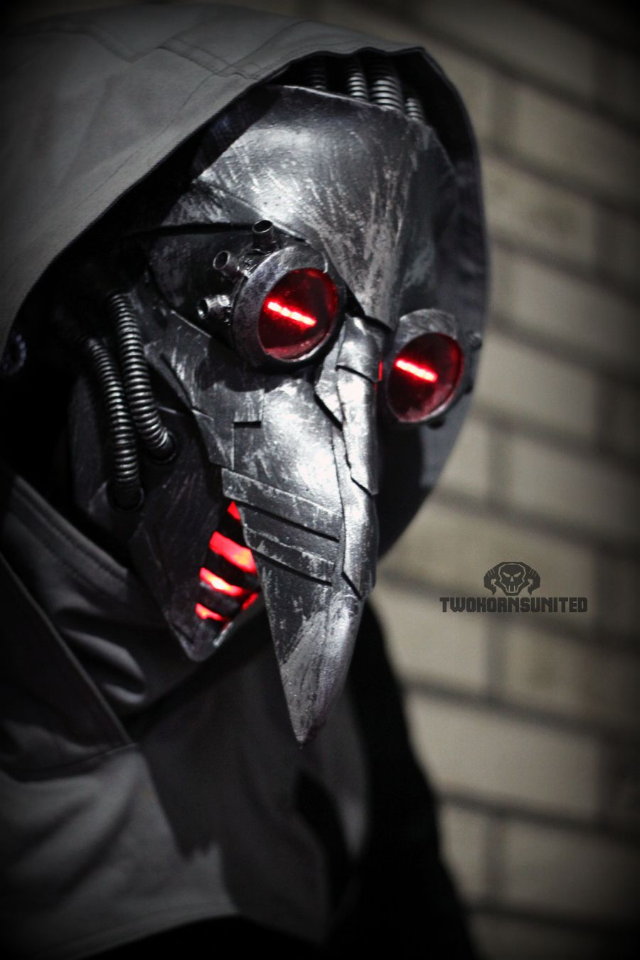 Incurable - cyber plague doctor mask by TwoHornsUnited.deviantart ...