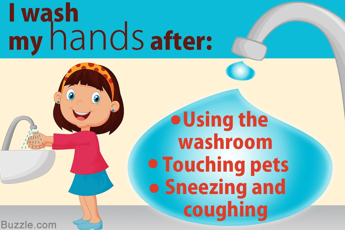 Importance of Washing Your Hands Wash your hands