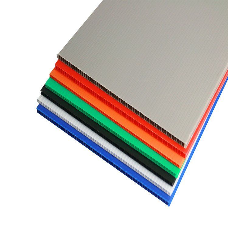 Transparent Fire Resistant 4x8 Slide Board Plastic Corrugated Silkscreen Image Pp Hollow Sheet Corrugated Plastic Sheets Corrugated Plastic Plastic Sheets