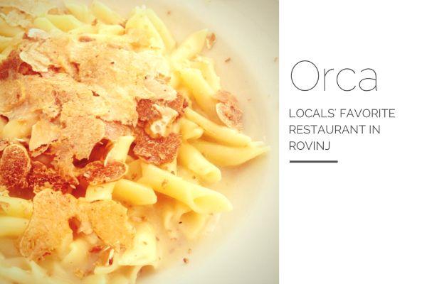 Restaurant Orca Rovinj: where locals eat in Rovinj