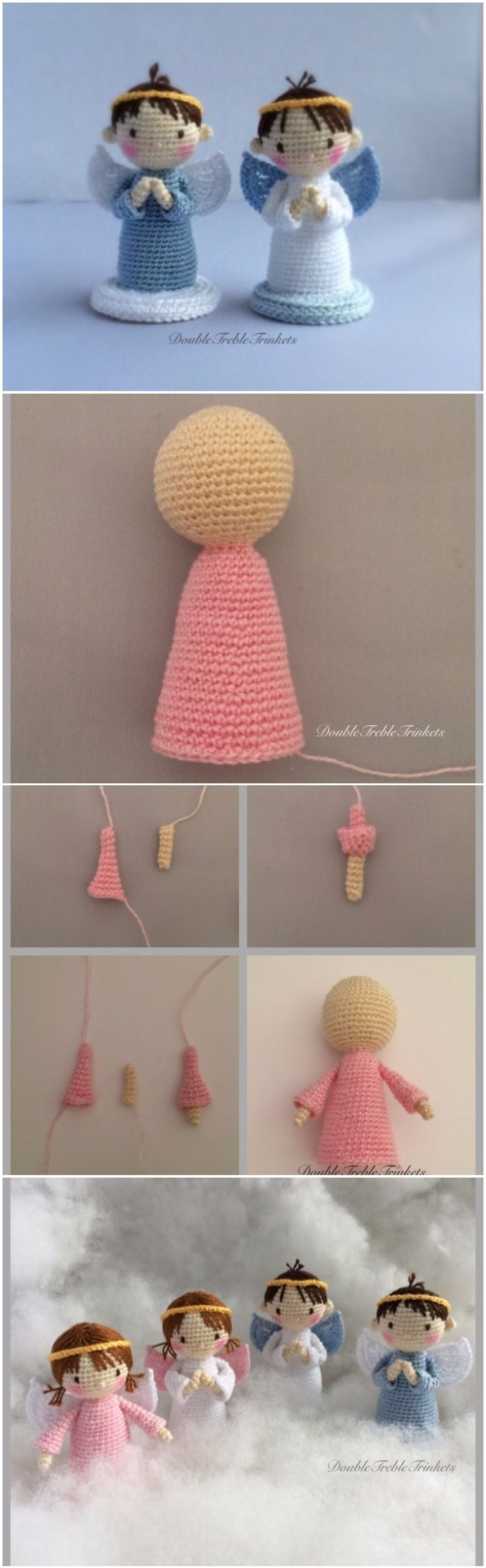 Crochet Little Angels Free Pattern