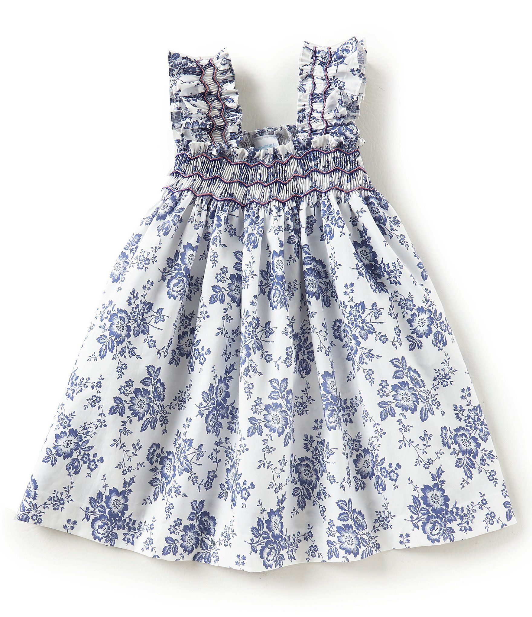 c720239b1c5 Shop for Edgehill Collection Little Girls 2T-6X Floral Smocked Dress at  Dillards.com. Visit Dillards.com to find clothing