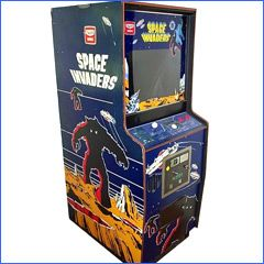 retro space invaders upright arcade machine for hire | アーケード ...
